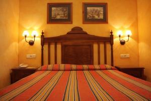 Cama o camas de una habitación en Balneario de Alhama de Granada