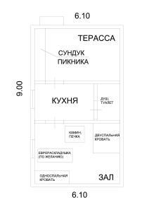 Планировка Derevnya Lobanovo otdelno stoyashie kotedgi