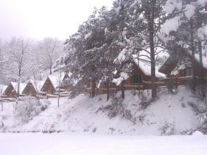 Camping Vall de Ribes en invierno