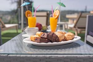 Breakfast options available to guests at San Georgio Boutique Hotel by Hotelius
