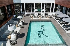 A view of the pool at Hotel Arts or nearby
