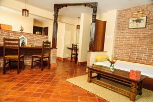 Zona de estar de Thagu Chhen, a Boutique Hotel