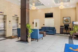 Hall o reception di Manhattan View Hotel