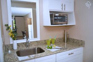 A kitchen or kitchenette at Banyan Hotel & MicroSuites