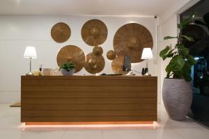 The lobby or reception area at Siam Nitra Boutique Hotel