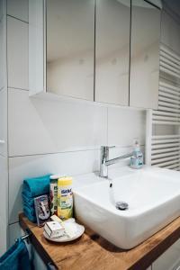 Ванная комната в Ferienwohnung Stadtplatz 25
