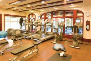 The fitness center and/or fitness facilities at Post Hotel and Spa