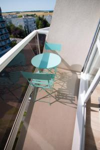 A balcony or terrace at Ebisoires Plaisir