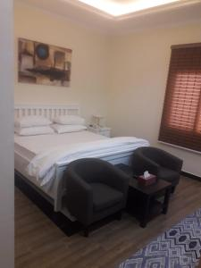 Cama ou camas em um quarto em نزل البحر - Sea Inn