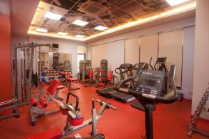 The fitness center and/or fitness facilities at Hotel Otrada