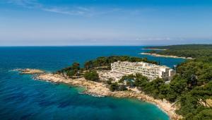 A bird's-eye view of Valamar Carolina Hotel & Villas