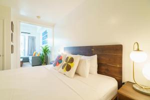 Waikiki Shore (WShore208)にあるベッド