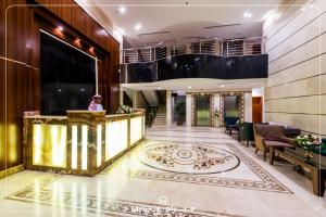 The lobby or reception area at Mirage Hotel Jeddah