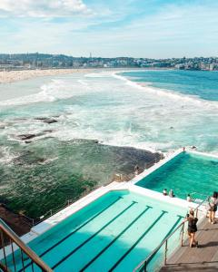A view of the pool at Wake Up! Bondi Beach or nearby