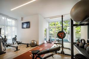 The fitness center and/or fitness facilities at Valamar Carolina Hotel & Villas