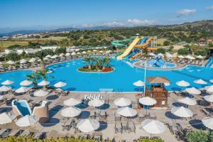A bird's-eye view of Lindos Imperial Resort & Spa