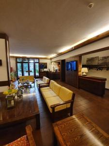 The lobby or reception area at Hotel Bella Venezia