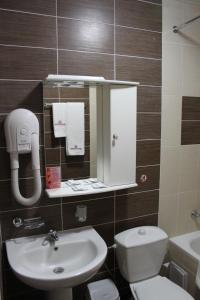Ванная комната в Гостиница Донская Волна
