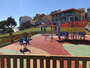 Children's play area at Hotel Mar de Fisterra