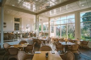 A restaurant or other place to eat at Chateau Yering Hotel