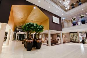 The lobby or reception area at Hotel Thermen Bussloo - Apeldoorn
