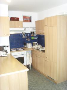 Küche/Küchenzeile in der Unterkunft Ferienwohnung Ina - Garantiert EP Tickets für unsere Gäste