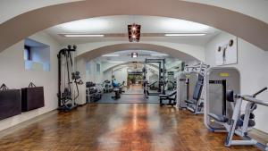 Gimnasio o instalaciones de fitness de Palais Hansen Kempinski Vienna