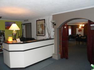 The lobby or reception area at Zero Inn Motel