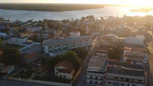 A bird's-eye view of Cricaré Praia Hotel
