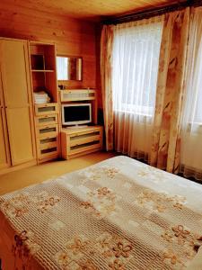 Lova arba lovos apgyvendinimo įstaigoje Apartamentai Zveju 11