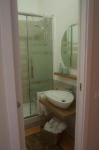 A bathroom at La Fenice
