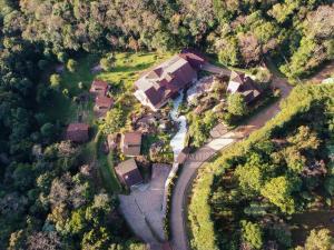 Uma vista aérea de Pousada Ahavanoah