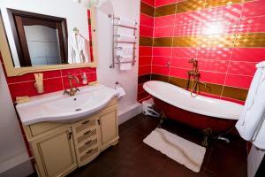 Ванная комната в Guest House Moskvich