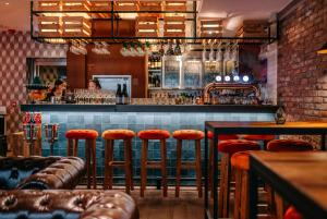 The lounge or bar area at The Sheung Wan