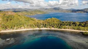 A bird's-eye view of The Papalagi Resort