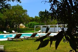 The swimming pool at or near Residence Altair - Serra Degli Alimini 3