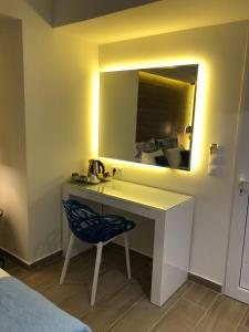 Łazienka w obiekcie Elpida Beach Studios