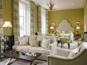 A seating area at Actons Hotel Kinsale