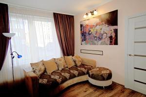 Гостиная зона в U Moskovskogo Vokzala Apartment