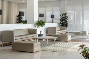 De lobby of receptie bij Hotel Playasol Riviera