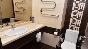 Ванная комната в Пансионат с лечением Фламинго