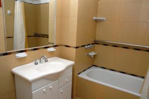 A bathroom at Costa Ushuaia