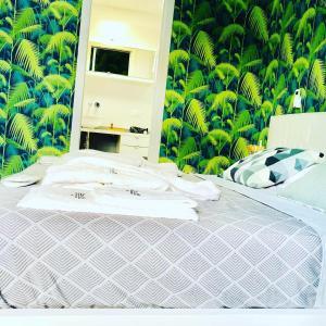 Letto o letti in una camera di Suite169