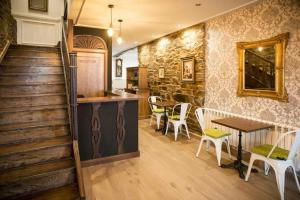 Una cocina o kitchenette en Hotel portico