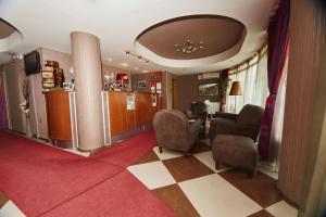 Lobby alebo recepcia v ubytovaní Leonardo Hotel