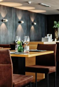 A restaurant or other place to eat at Seevital Hotel