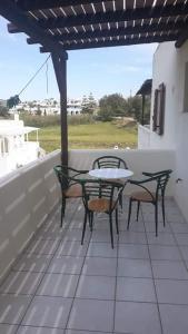 A balcony or terrace at Villa Studios