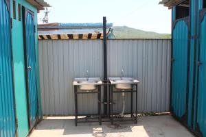 A bathroom at Dacha u Morya