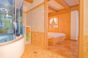 A bathroom at Albergo San Rocco