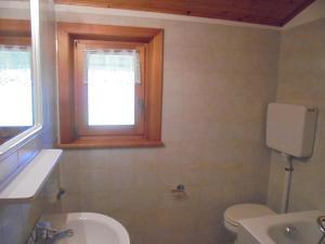 Koupelna v ubytování Casa Gembre